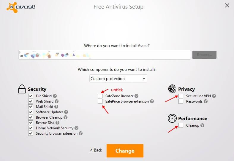 Uninstall Avast SecureLine VPN